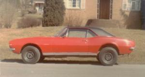 1967 CamaroSS