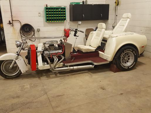 1975 Corvette L82 Trike