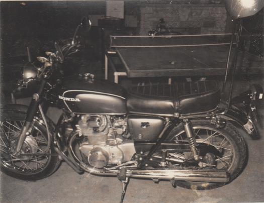 1971 Home CB350