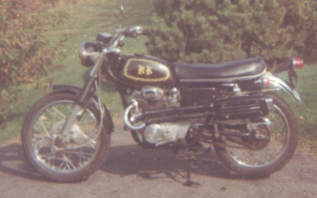 1968  Honda CL350