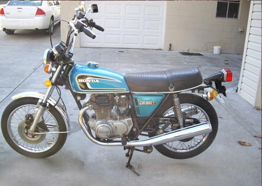 Honda CB360T (Restored)