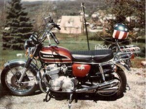 1974 Honda CB750 K4