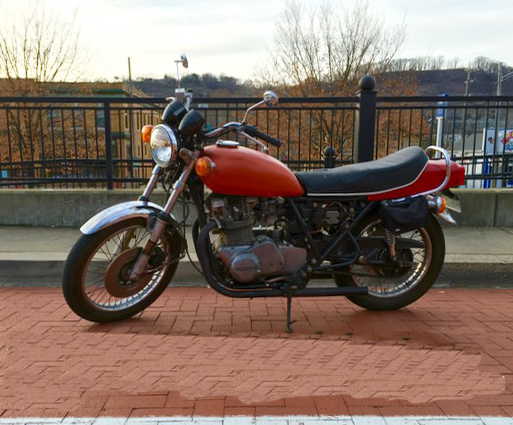 1979 Kawasaki KZ750 (Rescued)