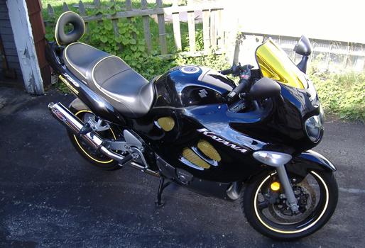 2006 Suzuki GSXF Katana 750