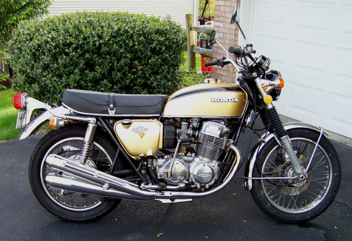 1973 Honda CB 750-Four (Restored)