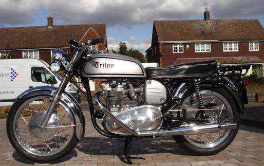 1971 Trumph T100C
