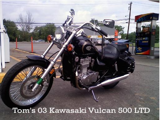 2003 Kawasaki Vulcan 500 LTD