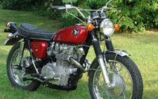 1968 Honda CL450